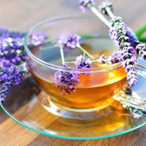 чай з лавандою